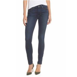 Paige Hoxton Ankle Skinny Jeans Charing Dark Wash